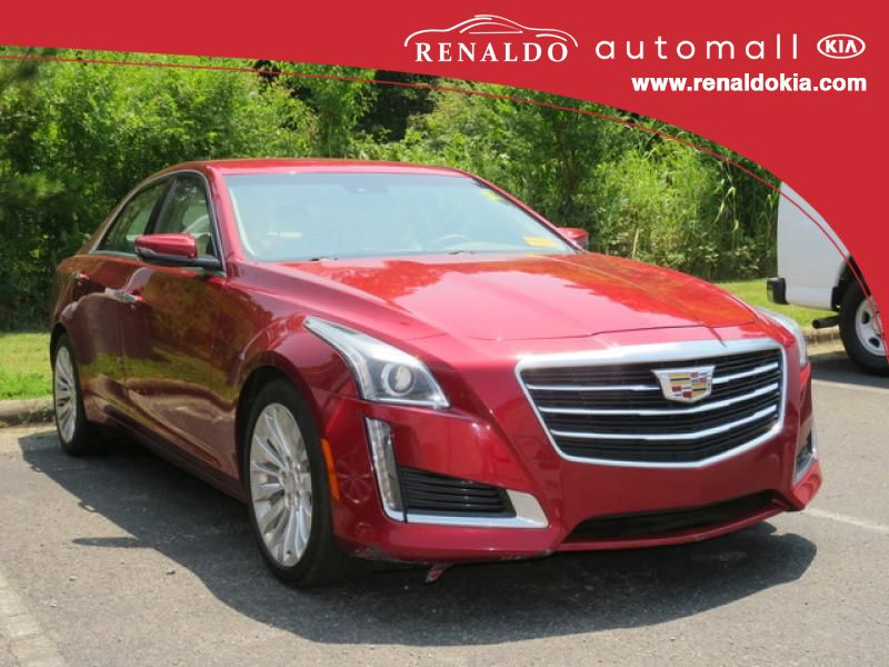 Pre-Owned 2015 Cadillac CTS Luxury RWD